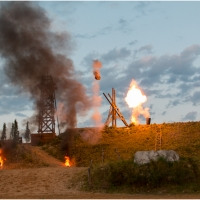 Der Ölprinz - Festspiele Burgrieden 2016 / Foto Klaus Holstein