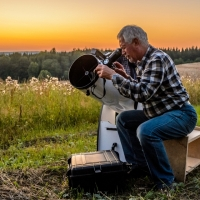 Heinz Gerhard Ott - Astrofotografie - Klaus in Action