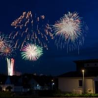 Feuerwerk Heimatfest / Jochen Dressler