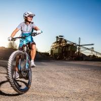 Mountainbikerin / Peter Jansen