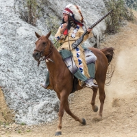 Winnetou I / Foto Dirk Zimmermann